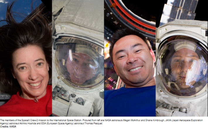 NASA Announces Astronauts for SpaceX's Crew-2 Dragon Launch in 2021