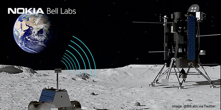 NASA, Nokia to Build First-Ever Cellular Network on the Moon